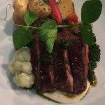 Rump of Lamb, Rosemary & Garlic Roasted New Potatoes ...