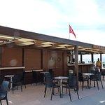 bar de plage...