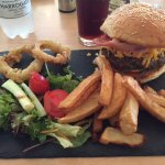 A good Burger is always enjoyable. We make our burgers from local beef. Our chips are hand made