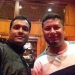 With my friend Sohel