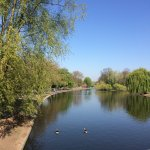 Nearby Regent's Park for an early morning jog