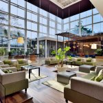 Beautiful Lobby with natural lights..
