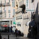 façade exterieure direction place Clemenceau