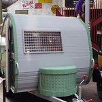 A Lego built caravan very impressive