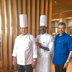 With Chef Ramesh Verma & South Indian Chef Pandi