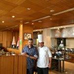 With Head Chef Rajendar Chauhan