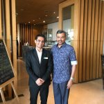 With Jayant, Restaurant Manager