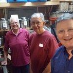Alan and his gang making wine!
