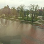 River Odra from room 411