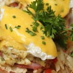 Crisfield Eggs Benedict
