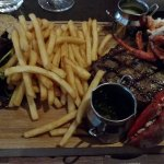 Steak & Lobster...so tasty.