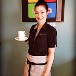 Stay dry during our rainy spring weather!! Come on in and enjoy a delicious cup of tea, coffee o