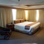 Amplias y cómodas habitaciones con vista al lago de Maracaibo
