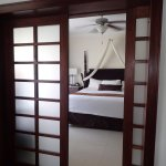Master bedroom in honeymoon suite