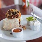 Ultimate Breakfast Burrito at Bread & Porridge