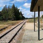 Estación de tren, muy bien conservada.