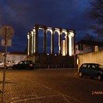 Templo Diana à noite