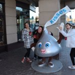 Sweet stop at Hershey world