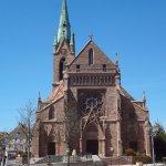 Eglise Saint-Etienne à Cernay (vue extérieure)