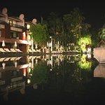 Dewa Koh Chang pool at night
