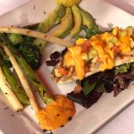 Snapper fish chef special