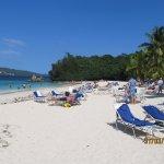 Magnifique plage visitée lors de l'excursion