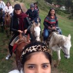 Horse ride in Sacsayhuamán.