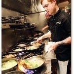 Head Chef Aaron VanTimmeren