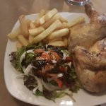 chicken and chips was yum