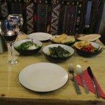 Turkish meze + wine