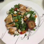 Pear Salad with Chicken