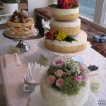 Chef Regina does awesome wedding cakes!