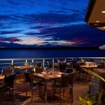 Our patio offers amazing sunset views.