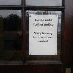 Closed... 20/04/2017