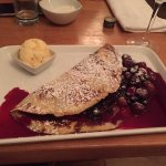 The Black Forest Pancake - YUM!