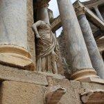 Estatuas de politicos romanos