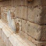 revestimiento de la pared marmol(lo que queda)