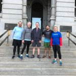 Westin Downtown Denver Mile-High Run with Westin GM, John Everett (2nd from left)