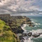 The Antrim Coast in Northern Ireland, heading towards the Giants' Causeway