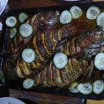 Kreolisches Festmahl von Yvette (einer der Hauptgänge)