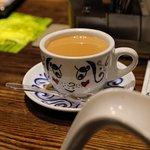 HK milk tea.