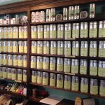 The tea wall!