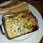 Pork belly, chicken and chorizo lasagne