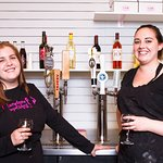 serving wine, beer, and prosecco on tap