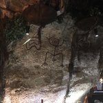 They told us they are real cave paintings over 3000 years old