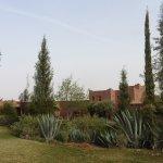 Looking across gardens toward Kasbah