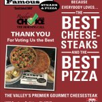 Voted Best Cheesesteak and Pizza 2016 Reader Choice Award – Matey's Famous in Bethlehem