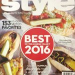 Voted Best Cheesesteak 2016 by Lehigh Valley Style Magazine and featured on cover.