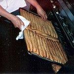 Warm Bread Sticks are ready