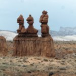 """These 3 rock formations resemble """"The 3 Wisemen"""""""